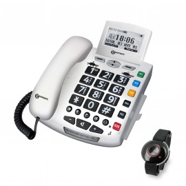 Serenities corded telephone and fall detector