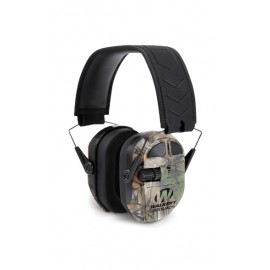 WALKER'S Ultimate Power Muff Quads Real tree helmet hunting and tri Hifi 360 camouflage