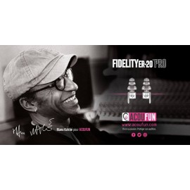 Fidelity ER-20 Pro Plug / Ideal for all styles of music and all situations