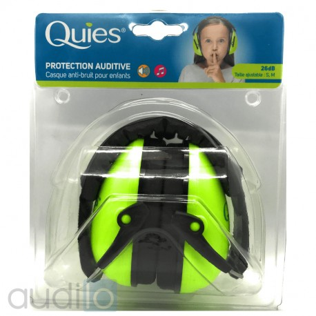 Casque antibruit Quies rose