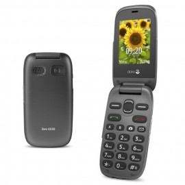 Mobile phone with large display - DORO 6030 (Black)