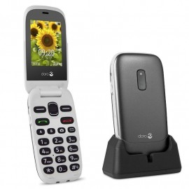 Mobile phone with large display - DORO 6030 (Black & White)