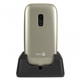Mobile phone with large display - DORO 6030 (Champagne)