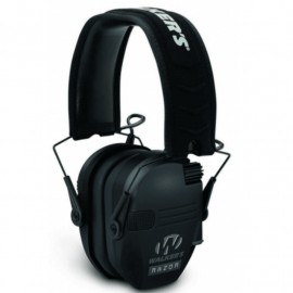 RAZOR Amplified Hunting Headset Black with 2 microphones (Electronic)