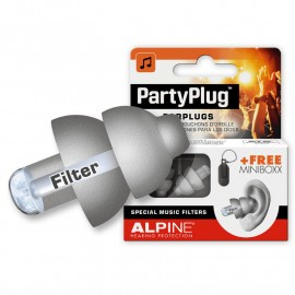 Concerts Party Plug Hearing Protection AlpineGrey