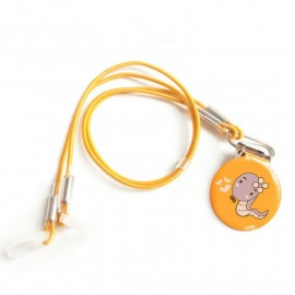 Safety Clip with wire for Children's Hearing Aids, Snake Model