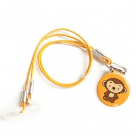 Child Safety Clip with wire for Hearing Aid, Monkey Model