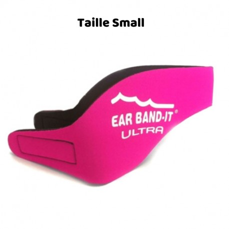 Bandeau Néoprène Natation EarBand It Ultra, Rose, Taille S, Enfant