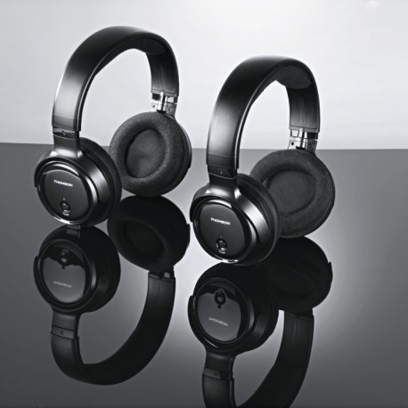 Casque TV Duo WHP3203D Thomson Noir,