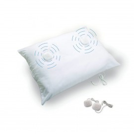 SoundOasis Musical Pillow - Square Pillow with Built-in Speakers for Music Playback