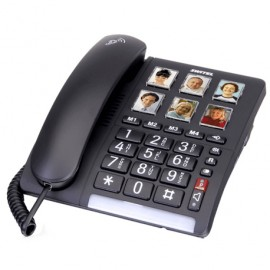 TF 540 Comfort phone with visual call buttons